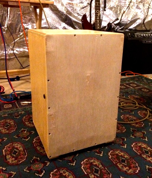 The Finished Cajón