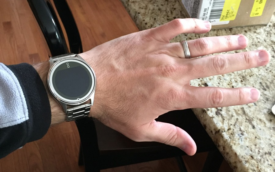 The Olio watch, which I thought was a nice fit for me.
